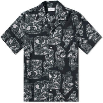 Saturdays NYC Short Sleeve Canty Pendant Vacation Shirt