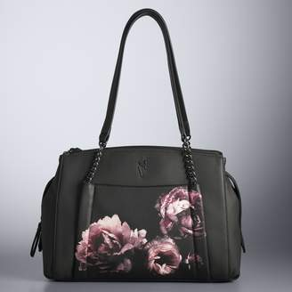 Vera Wang Simply Vera Gibbs Triple Compartment Satchel
