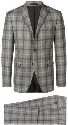 Tagliatore tartan pattern suit