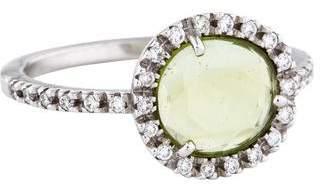 Pomellato 18K Peridot & Diamond Colpo de Fulmine Ring