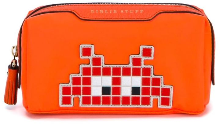 Anya HindmarchAnya Hindmarch Space Invaders Girlie Stuff Pouch