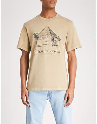 Billionaire Boys Club Pyramid-print cotton-jersey T-shirt