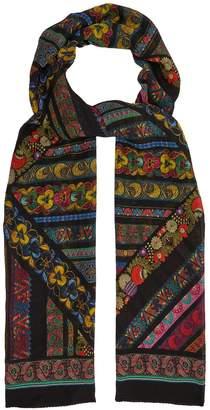 Etro Floral-print silk scarf