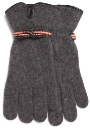 Made In Spain Wool Blend Gloves