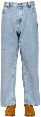 Our Legacy Washed Cotton Denim Jeans