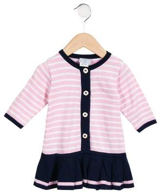 Florence Eiseman Girls' Striped Knit Dress