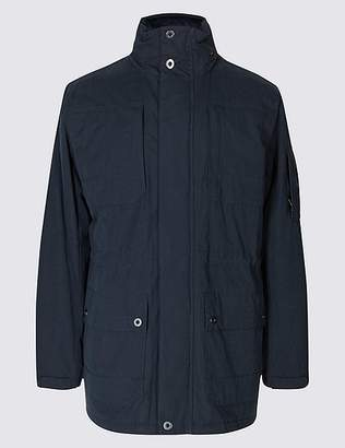 """Marks and Spencer Cotton Blend Parka with Stormwearâ""""¢"""