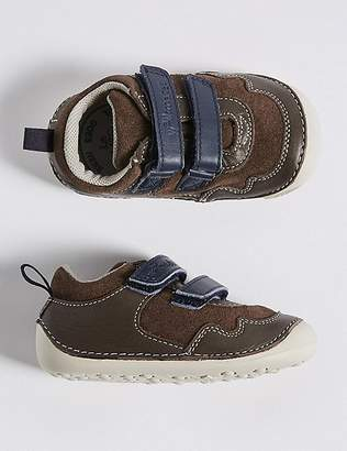 Marks and Spencer Kids' Leather Pre Walker Shoes (2 Small - 5 Small)