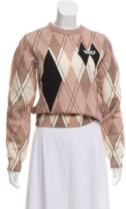 Louis Vuitton 2018 Argyle Sweater