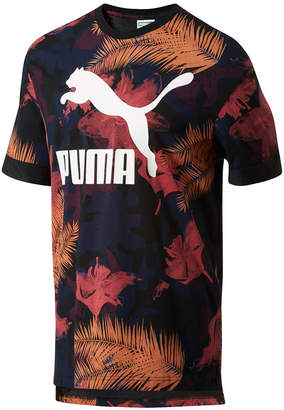 Puma Men's Tropical-Print T-Shirt