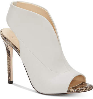 Jessica Simpson Javrey Peep-Toe High-Heel Shooties Women Shoes