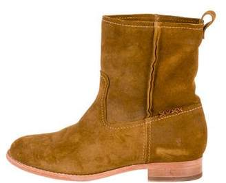 Frye Suede Mid-Calf Boots