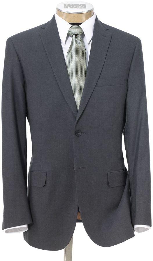 Jos. A. Bank Joseph Slim Fit 2-Button Suits with Plain Front Trousers