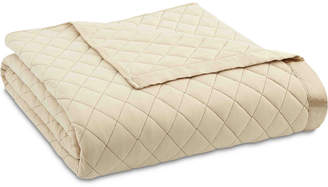 Shavel Micro Flannel Twin Quilted Blanket Bedding
