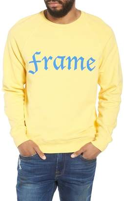 Frame Slim Fit Logo Sweatshirt