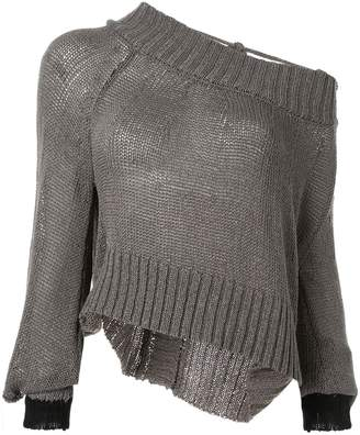 Taylor Situation one shoulder sweater