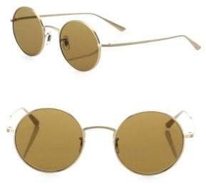 Oliver Peoples The Row For After Midnight 49MM Round Sunglasses