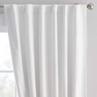 Pottery Barn Teen Washed Linen Blackout Drape, 96&quot, Ivory