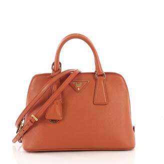 Prada Promenade Orange Leather Handbag