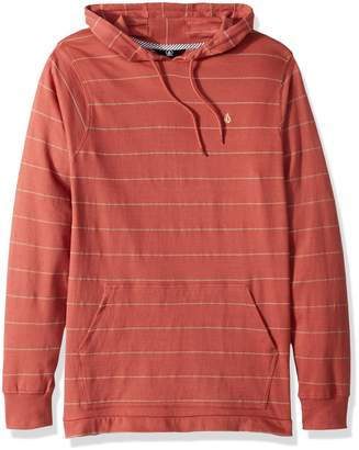 Volcom Men's Wallace Long Sleeve Hooded Shirt