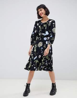 Max & Co. floral print midi dress