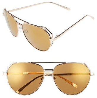 Women's A.j. Morgan Perfection 62Mm Sunglasses - Gold $24 thestylecure.com