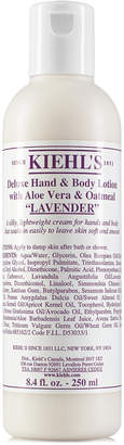 Kiehl's Kiehl Since 1851 Deluxe Hand & Body Lotion With Aloe Vera & Oatmeal - Lavender, 8.4-oz.