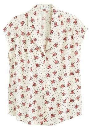 MANGO Camp-collar blouse