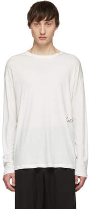 Isabel Benenato White Signature Long Sleeve T-Shirt