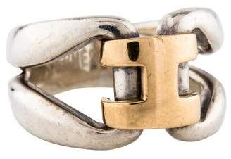 Hermes Two-Tone H Ring