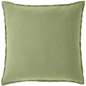 Designers Guild Brera Lino Decorative Pillow, Olive