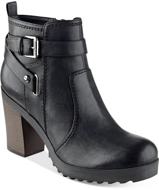 G by GUESS Francy Lug Booties $79 thestylecure.com
