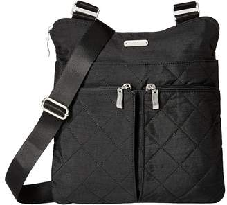 Baggallini Quilted Horizon Crossbody with RFID Wristlet Cross Body Handbags