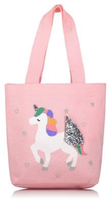 George Pink Unicorn Tote Bag