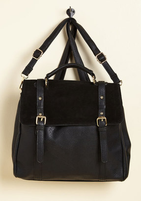 ModCloth Stop, Rock, and Roll Convertible Bag in Black $69.99 thestylecure.com