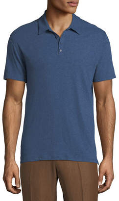 Vince Raw-Edged Polo Shirt