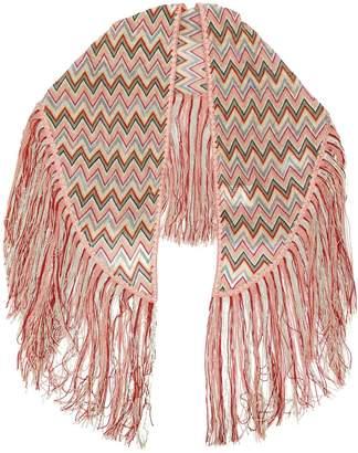 Missoni zig zag stripe scarf