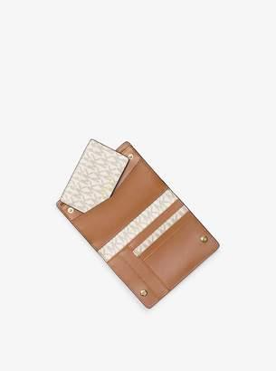 5c4d2db38727 MICHAEL Michael Kors Medium Logo Slim Wallet