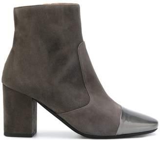 Sociã©tã© Anonyme Block Heel Boots - Grey CJa99cxE38