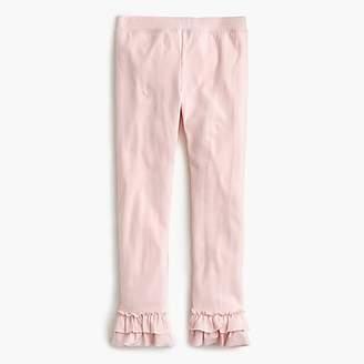 J.Crew Girls' everyday leggings with ruffles