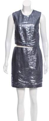 Kaufman Franco KAUFMANFRANCO Sequined Mini Dress