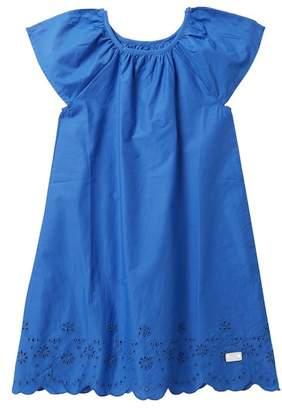 7 For All Mankind Eyelet Poplin Dress (Big Girls)