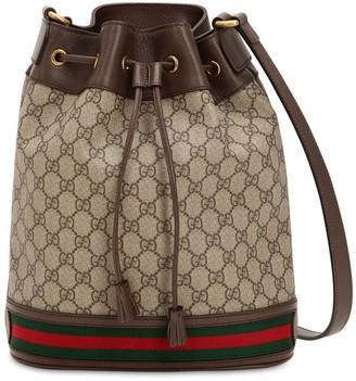 Gucci Gg Supreme Ophidia Shoulder Bag
