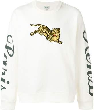 c6ed4247 Kenzo White Men's Sweatshirts - ShopStyle