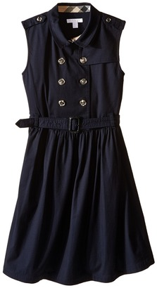 Burberry Kids - Iliana Sleeveless Trench Dress Girl's Dress $235 thestylecure.com