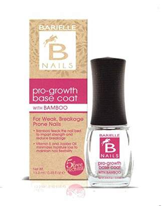 Barielle B Nails Pro-Growth Base Coat with Bamboo .45 oz. (Pack of 4)