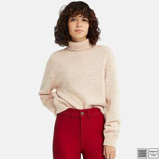 Uniqlo Women's U Melange Turtleneck Sweater