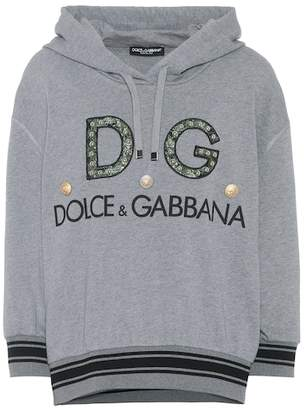 Dolce & Gabbana Printed cotton hoodie
