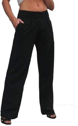 Ice Wide Leg Smart Soft City Trousers