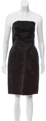 Marc Jacobs Silk Strapless Dress
